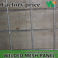 6Inch*6inch Deformed Steel BRC mesh reinforcing China Concrete reinforcement Wire Mesh Panel