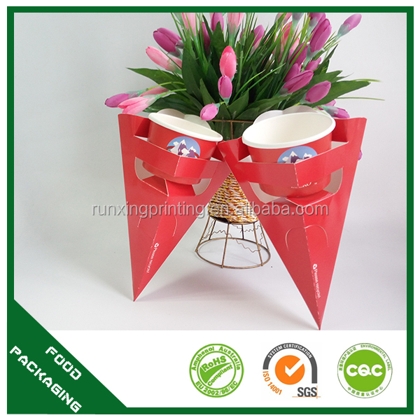 printed fan-shaped crepe,decorative crepe holder