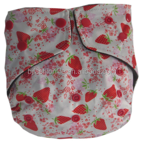 Best Bamboo Charcoal Baby Diaper Washable Baby Pocket Nappy Cloth Reusable Diaper Made In China
