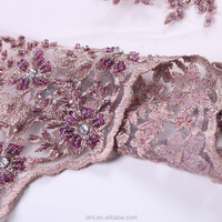 handmade cotton voile fabric with embroidery, sequin embroidery beaded lace, middle east embroidered fabrics