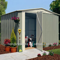 Prefabricated cheap garden storage shed metal shed for sale
