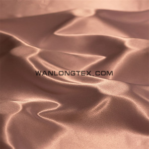 75D*100D Cheap Polyester Satin Fabric for Dress Lining Wedding and Decoration
