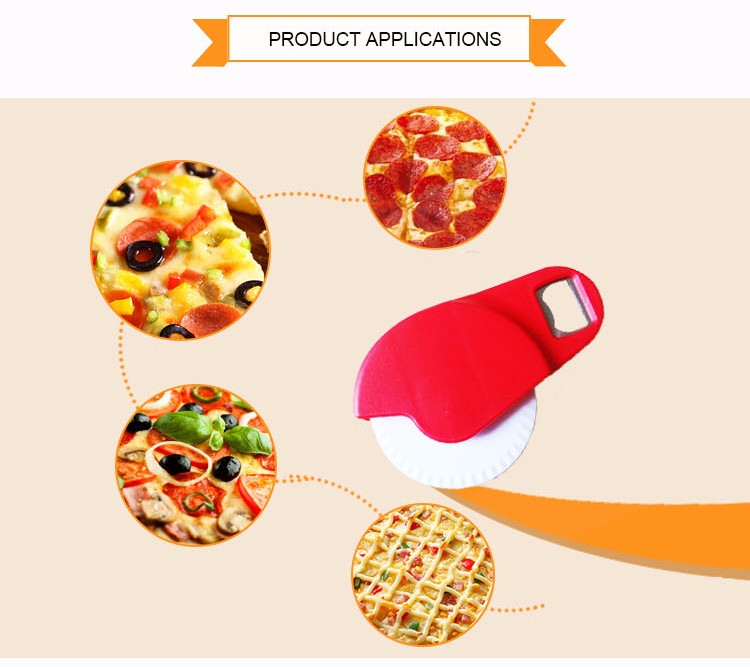 Plastic Handle Pizza Cutter