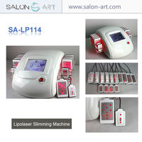 100% Noninvasive effective fat reduction lipo laser weight loss machine