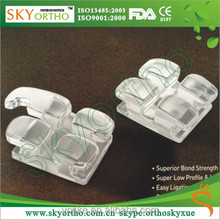 Orthodontic Sapphire Brackets Clear Braces