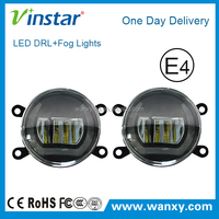 90MM External Driver no FM interference led fog drl light for C4 Picasso 2007-2012