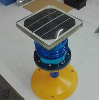 solar powered blue led taxiway edge light