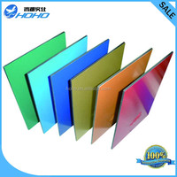 material de construccion alluminium composite panel with various color and cheao price