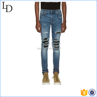 Ripped Boys Jeans Washed New Fashion