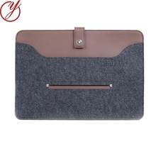 High Quality Customized color computer bag felt laptop cover