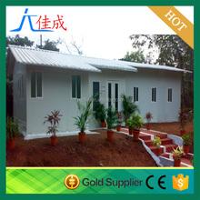 Modern Flat Roof Prefab Houses Container Modified Prefabricated Sandwich Panel House