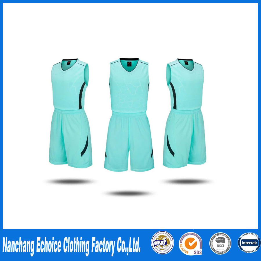 New Basketball Suit Sports Suit Children'S Wear Blank Basketball Clothing Speed Dry Training Clothing