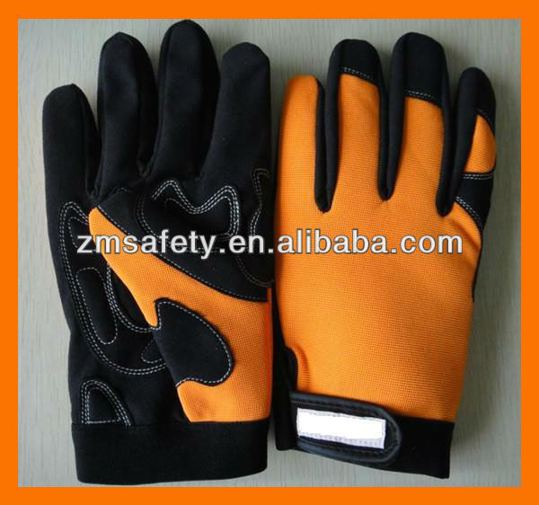 Orange Insulated Work Gloves