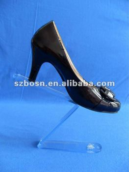 Acrylic Shoes Holder, Acrylic Shoes Support, Acrylic Shoes Riser