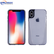 Flexible soft tpu pc blank translucent cell phone case for iphone 10 x ,for apple for iphone x mobile phone cover