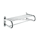 Quality stainless steel double bath towel rack for bathroom 11026