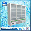 Pharmaceutical refrigerator with sliding glass door