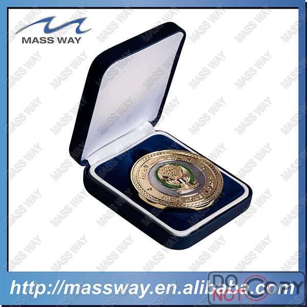 decorative custom packing medal coin display case