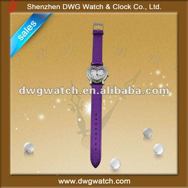 fashion warm heart leather lover watch DWG-L0020