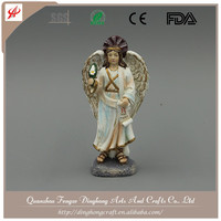 Wholesale Resin Angel and Cross Religious Crafts Hanging Angel Decoration