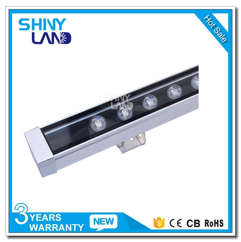 CE Approved aluminium indoor facade led wall washer