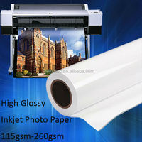 135G high glossy photo paper & inkjet paper (A4* 20), professional 135g glossy photo paper, Factory Supplier