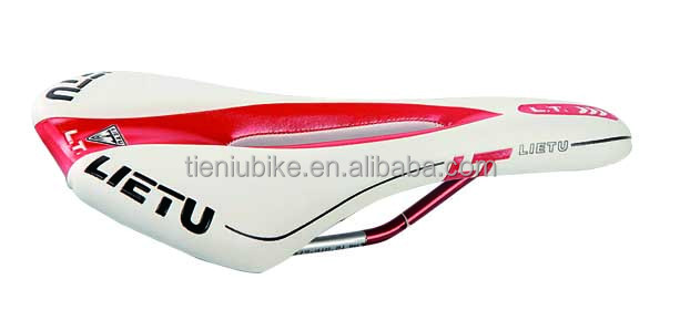 Comfortable Bicycle Saddle / Waterproof PU Bike Seat / custom MTB Bicycle saddle factory