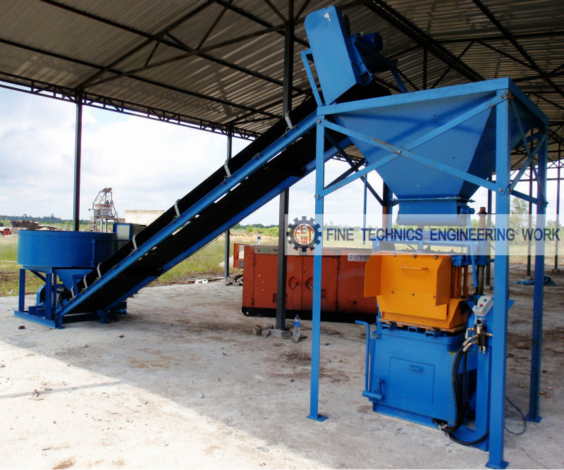 Cement Brick and Block Making Machine (FT 18)