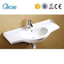Bathroom top quality cabinet modern ceramic washbasin