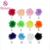 New design multicolor chiffon flower trimming for garment and decoration