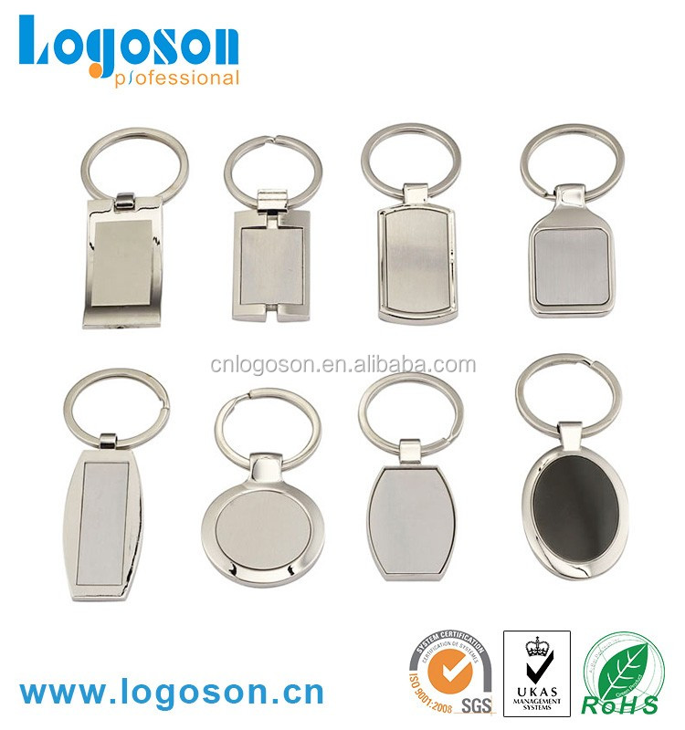 LOGOSON Manufacturer Metal Custom Keychain For Souvenirs