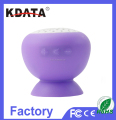 2017 Low Cost Mini Portable Mushroom Bluetooth Speaker with Factory Price Promotiona