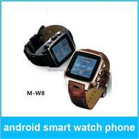 Dual Core 1.2GHZ android 4.2 3G smart watch mobile phone Support WIFI GPS 3G WCDMA GSM 3.0M camera watch phone