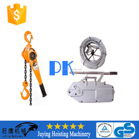 LIFTKING Yale type manual chain lever block high quality CE certificated manual chain lifting hoist