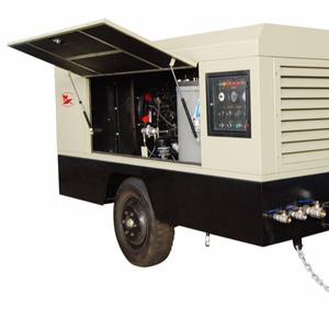 7bar diesel screw car portable car air compressor machines