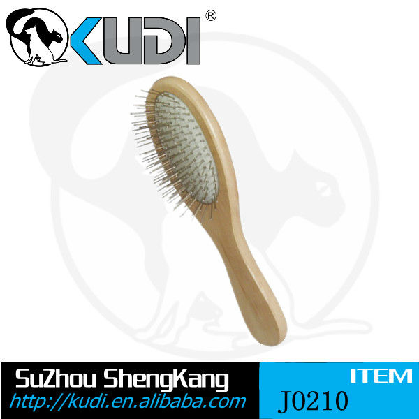 High quality pet grooming tool with wood handle JO210