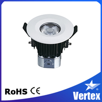 "American Chip 100lm/w 4"" 9w COB LED Recessed Downlight"