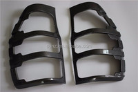 Carbon fiber pattern painted ABSPlastic Tail light cover LAMP COVER FOR FORD RANGER T6 2012 car lighting accessories 2 pcs/set