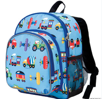 The picture Trains, Planes and Trucks Backpack