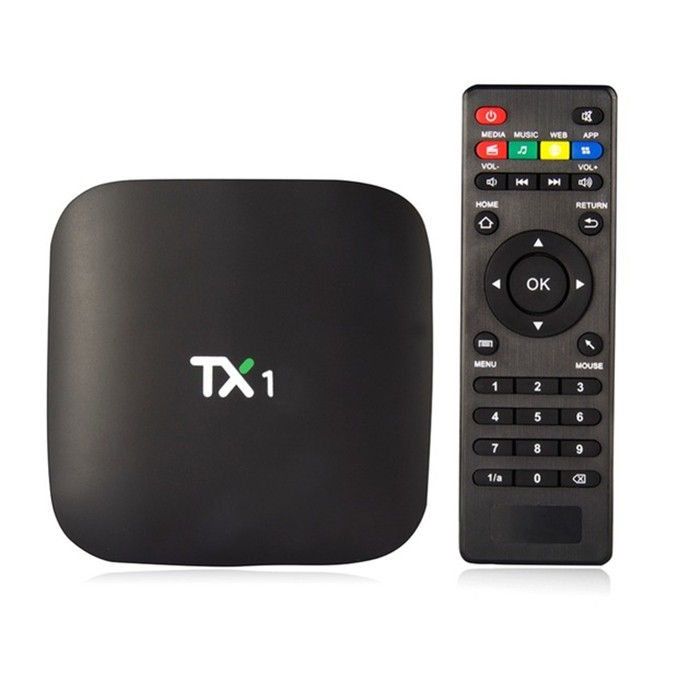 2016 new design TX1 Vensmile S805 Amlogic 1.5 GHZ android tv box Quad-Core 1 GB/8 GB Smart Tv DLNA 1080P H.265 HD android tv box