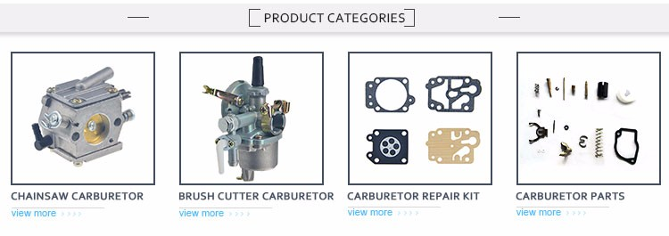 S173 Manufacturer Lifetime Warranty carburetor for 25-33cc brush cutter
