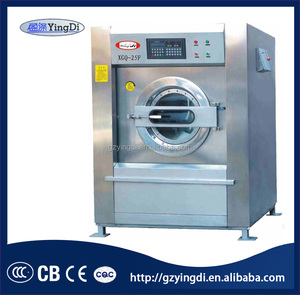Chinese supplier fully automatic commercial 15kg laundry washing machines for sale