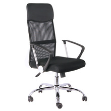 fabric plastic revolving chair mesh back simple manager office chair