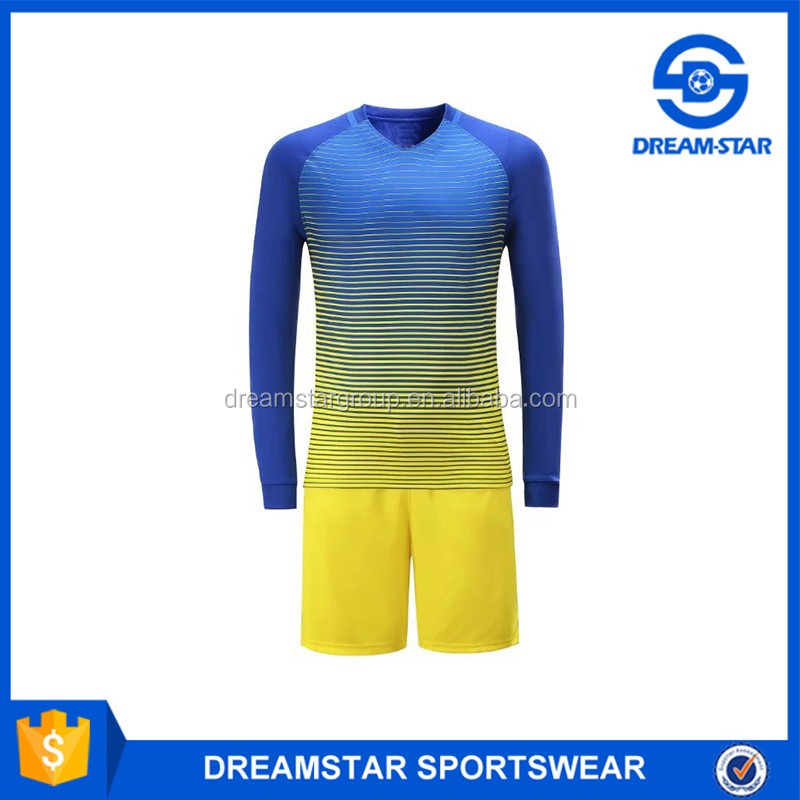 2017 Wholeslae Orange Soccer Jerseys,Long Sleeve Kit