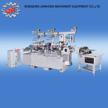 JH-320 full automatic roll to roll adhesive label printing machine die cutting machine