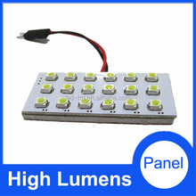 Lamp panel 18SMD 3528 led car light, car trunk light led lamp led grow light panel