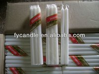 make high quality white pillar candles/long lasting wax candles