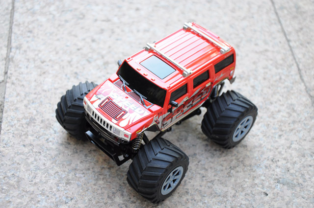 1/24 Kids Car Hummer 4WD 2.4G RTR RC Truck Jeep