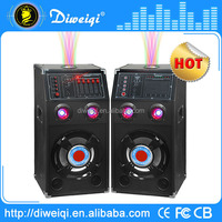 High tech New product with laser light 2.0 dj speakers made in china
