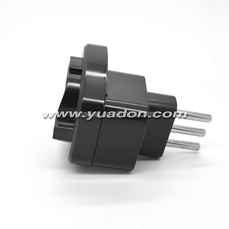 Italy travel adapter power adaptor plug with intelligent recognition